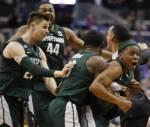 Мичиганский Государственный Герцог помогает повысить телевизионные рейтинги NCAA Tournament
