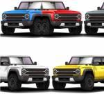 LEAKED: вот цвета для нового Ford Bronco