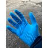 Перчатки нитриловые высококачественные. голубые, сиреневые, черн