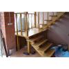 Услуга деревянные лестницы под ключ, по эскизам